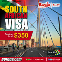 Borgga South African Visa
